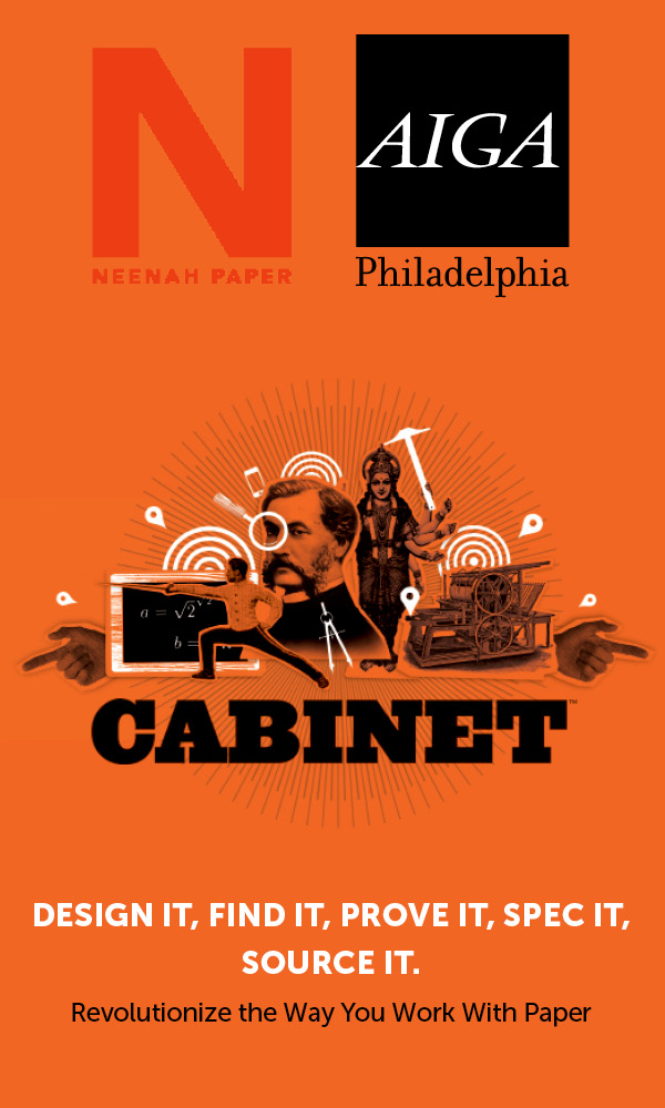 AIGA Philly + Neenah Papers: Cabinet