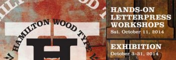 2014 | Hamilton Wood Type